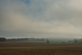 Novermber, looking home from the village